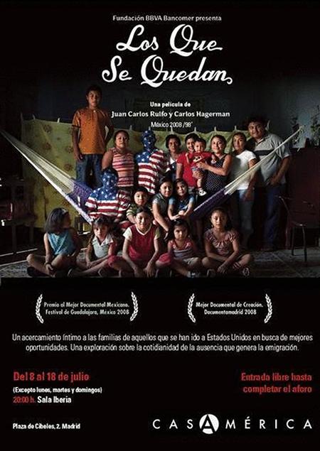 poster for Los que se quedan film